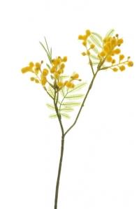 Куст Мимозы искусственный желтый 31 см