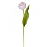 Тюльпан искуственный фиолетовый 35 см