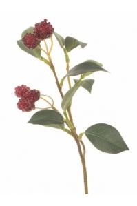 Ветка с ягодами искусственная 33 см