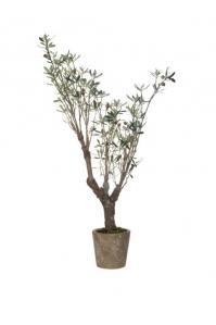 Оливковое дерево с плодами искусственное 152 см