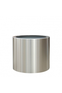 Кашпо из нержавеющей стали Standard Topper от 30 до 50 см