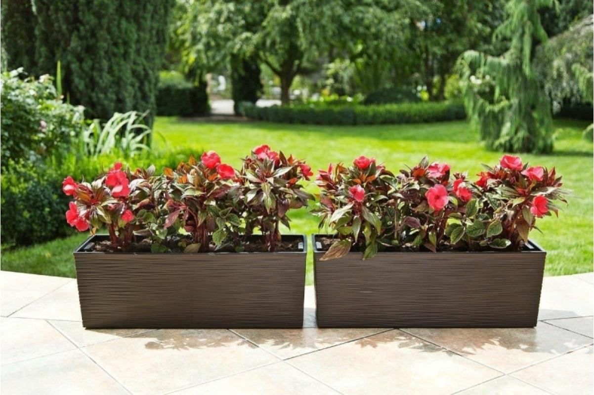 Кашпо Lamela Begonia Dluto мокка 56 x 19 x 19 см