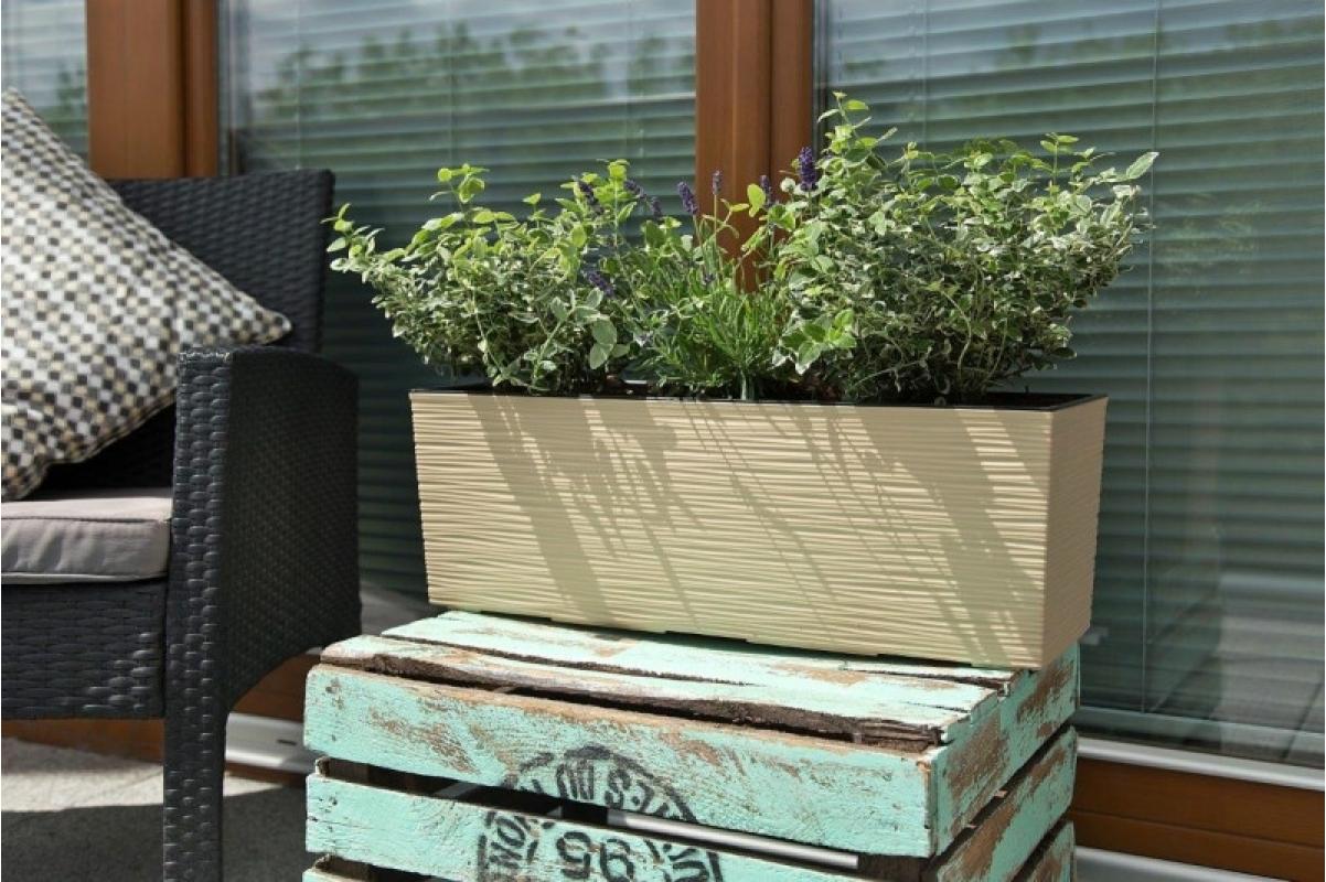 Кашпо Lamela Begonia Dluto капучино 56 x 19 x 19 см - Фото 3