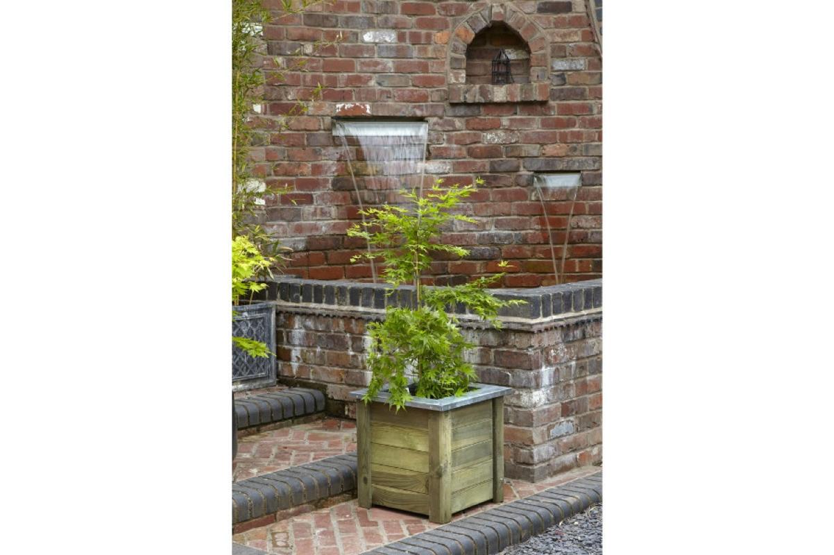 Кашпо деревянное Cambridge Planter от 30 до 50 см - Фото 2