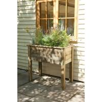 Кашпо деревянное Planter Table 100 x 50 x 80 см