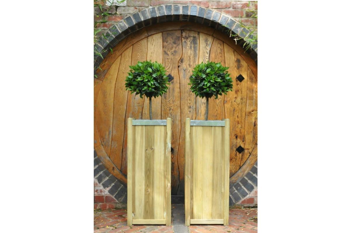 Кашпо деревянное Slender от 75 до 100 см - Фото 4
