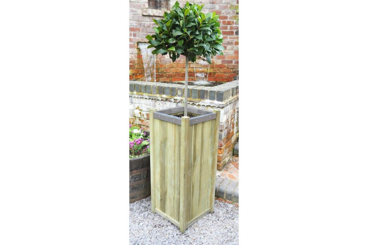 Кашпо деревянное Slender от 75 до 100 см - Фото 2