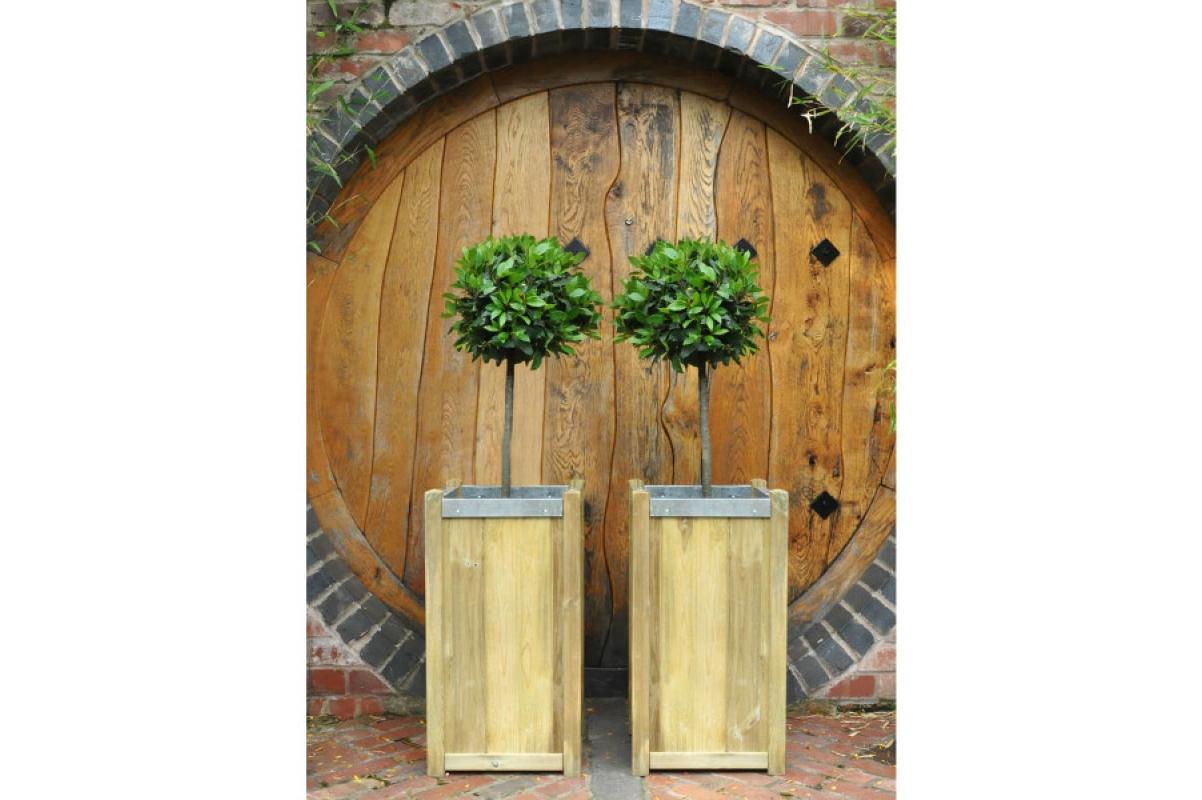 Кашпо деревянное Slender от 75 до 100 см - Фото 3