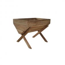 Кашпо деревянное Trough 100 x 75 x 80 см