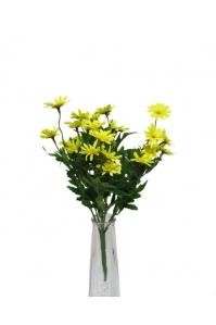 Букет Ромашек искусственный желтый 9 веток 30 см