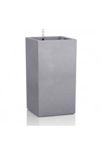 Кашпо Lechuza Canto Color серый камень   (Размер (Д x Ш x В), см:30 x 30 x 56)