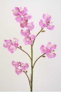 Орхидея Фаленопсис гибридный искусственная сиреневая 70 см