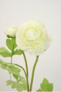 Лютик персидский искусственный белый 56 см