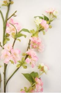 """Сакура """"Kwanzan"""" искусственная бело-розовая 130 см"""