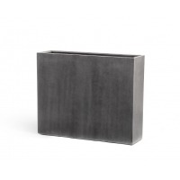 Кашпо Treez Effectory серия Beton высокий девайдер темно-серый 75 см
