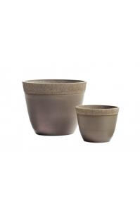 Кашпо Treez Japonica Ki Sen bowl капучино от 25 до 41 см