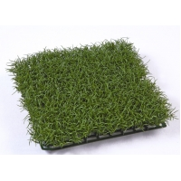 Коврик Газон-трава Искусственная темно-зеленая 26x26 см