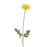 Мак Ширли искусственный светло-желтый 64 см