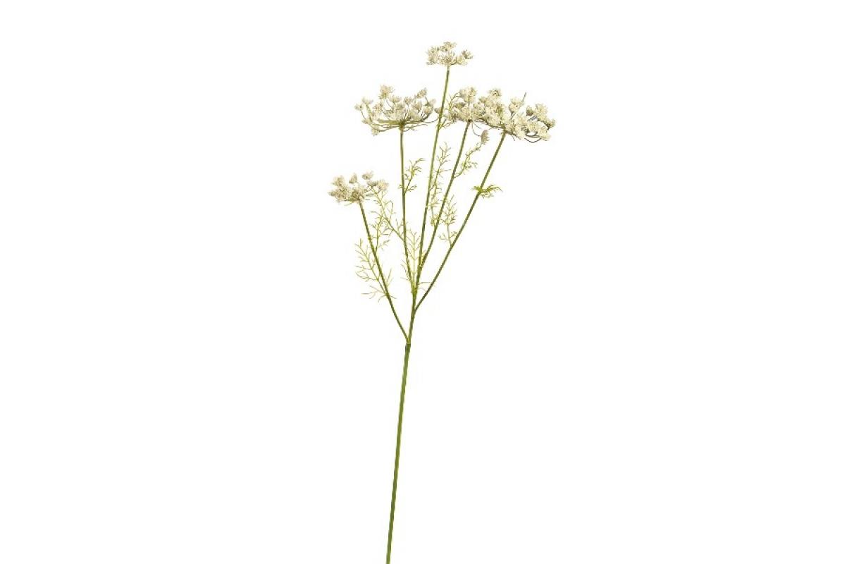 Анна королевская большая искусственная кружевная белая 100 см