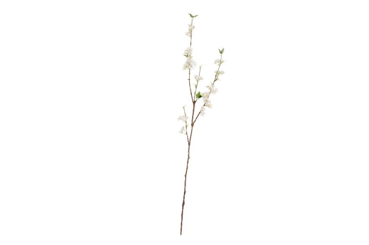 Ветка Сакуры Нежные Облака искусственная белая 112 см