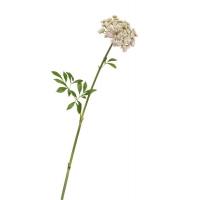 Анна королевская искусственная бело-розовая 62 см