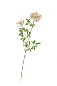 Анна королевская большая искусственная бело-розовая 92 см