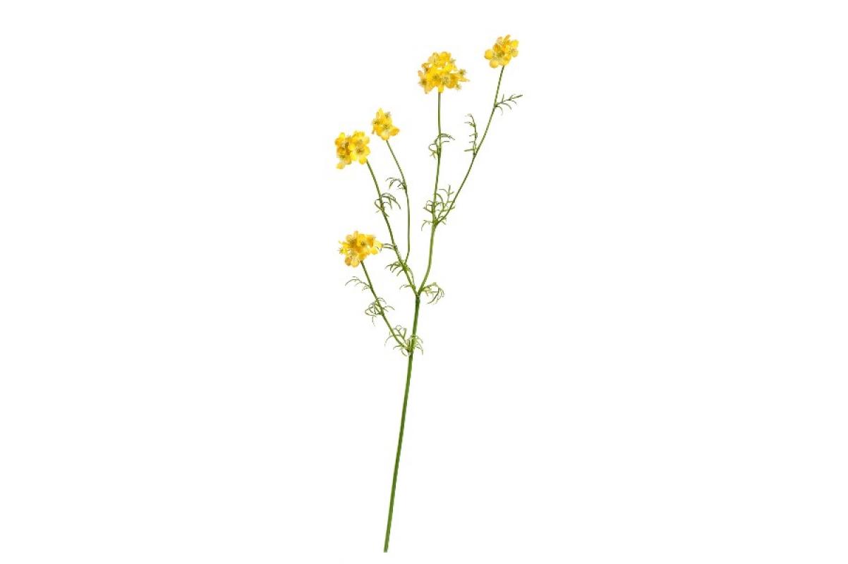 Ранункулюс полевой искусственный желтый 71 см