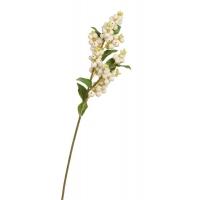 Ветка Снежноягодника искусственная белая 51 см