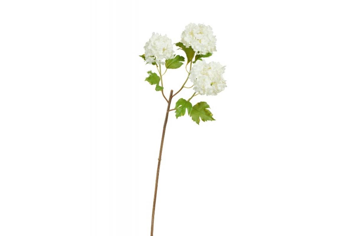 Калина Бульдонеж (Вибурнум) искусственная белая 55 см