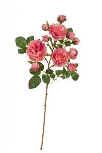 Роза Дэвид Остин искусственная розово-малиновая 51 см