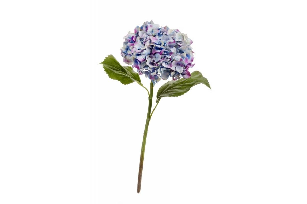 """Гортензия """"Holland Dry"""" искусственная сиренево-голубая 47 см"""