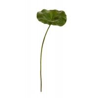 Лист Лотоса искусственный зеленый 70 см