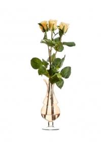 """Композиция """"Elegant Simplicity in Yellow"""" искусственная в вазе с водой 45 см"""
