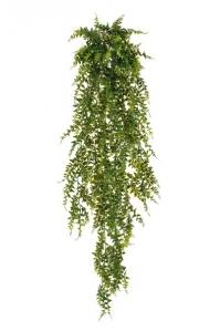 Папоротник Бэкер искусственный ампельный зеленый 110 см