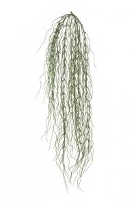 Флокед Грасс искусственный ампельный серо-зеленый 80 см