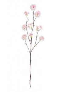 Ветка Сакуры Ball Flower искусственная нежно-розовая 115 см