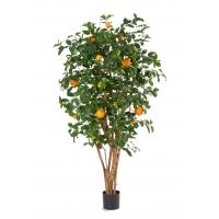 Апельсиновое дерево искусственное с плодами 180 см