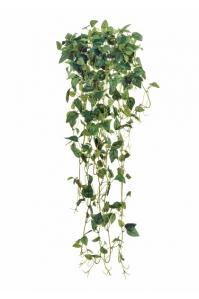 Филодендрон Эйер ампельный искусственный зеленый 70 см