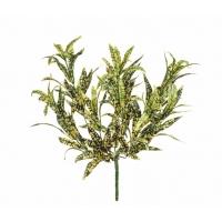 Спайдер - аукуба куст искусственный желто-зеленый 30 см (без кашпо)