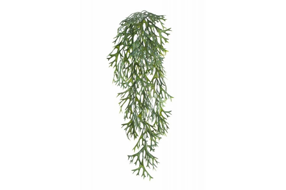 Куст Оленьи рога ампельный искусственный зеленый 70 см