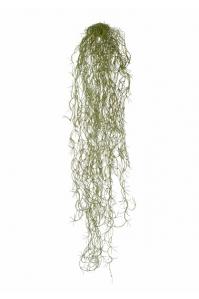 Тилландсия-Паутинка искусственная серо-зеленая припыленная 70 см