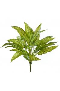 Куст Агланемы искусственный желто-зеленый 40 см