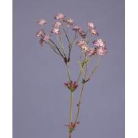 Астранция искусственная сиренево-фиолетовая 60 см
