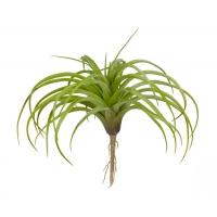 Тилландсия Розетка припыленная искусственная нежно-зеленая 15 см