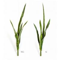 Сансевиерия искусственная куст зеленый 70 см (без кашпо)