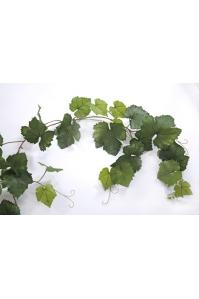 Виноградная Гирлянда искусственная зеленая 230 см