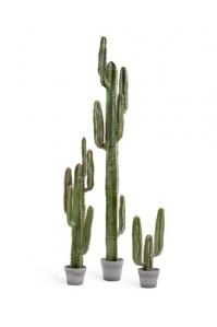 Кактус Цереус Мексиканский искусственный зеленый 63, 117, 200 см