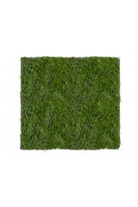 Мох Микс Рясковый Сфагнум искусственный зеленый 90 x 100 см (полотно)