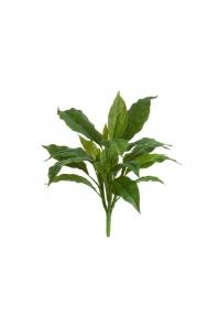 Спацифилум куст Мидл искусственный зеленый 40 см (без кашпо) Real Touch