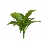 Спацифилум мини куст искусственный зеленый 25 см (без кашпо) Real Touch